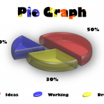 3D Pie Chart - Back White-01