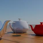 Sunny Day + teapot